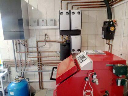 Підключення твердопаливного і газового котлів для опалення одного будинку