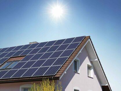 Сонячні панелі для гарячого водопостачання будинку